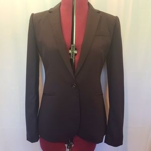 J Crew 1035 Single Button Wool Blazer